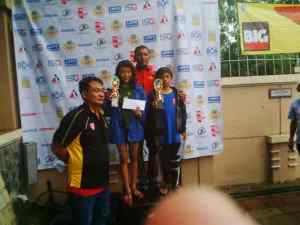 Best swimmer @BOA open championship(1)